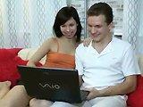 Teen russe 18 ans se fait baiser devant…
