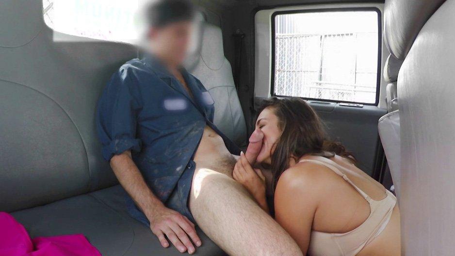 put francaise pute dans son camion