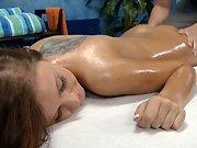 Une bonnasse qui aime le massage